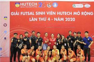 Tuyển nữ sinh viên IUH 'thẳng tiến' vào chung kết giải HUTECH FUTSAL 2020