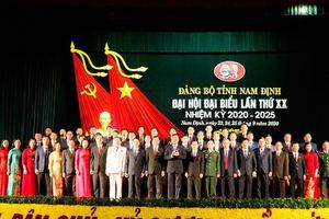 Đại hội đại biểu Đảng bộ tỉnh Nam Định lần thứ XX, nhiệm kỳ 2020 – 2025 thành công tốt đẹp