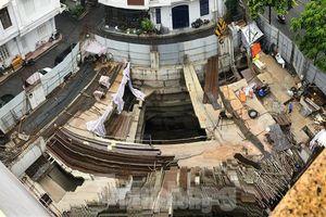Hà Nội yêu cầu làm rõ việc cấp phép nhà riêng lẻ có đến 4 tầng hầm