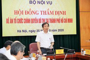 Đề xuất nhiều điểm mới khi tổ chức chính quyền đô thị Thành phố Hồ Chí Minh