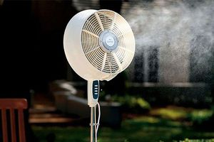 Những sai lầm cần tránh để bảo vệ sức khỏe khi dùng quạt phun sương