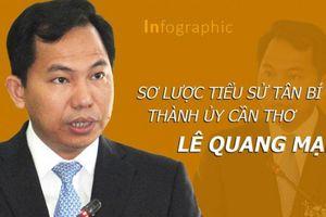 Sơ lược tiểu sử tân Bí thư Thành ủy Cần Thơ Lê Quang Mạnh