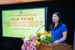 Liên đoàn lao động quận Hoàn Kiếm: Tích cực chăm lo cho đoàn viên công đoàn khối Giáo dục