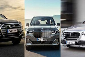 Mercedes-Benz S-Class thế hệ mới khác gì so với BMW 7-Series và Audi A8?