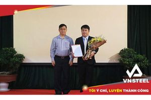 Tổng Công ty Thép Việt Nam – CTCP có Phó tổng giám đốc mới