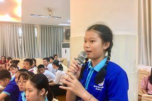 90 học sinh tham gia Diễn đàn Trẻ em tỉnh Khánh Hòa 2020