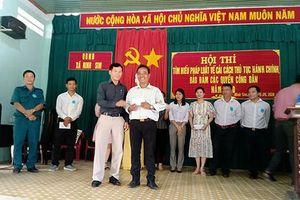 Ninh Sim: Tổ chức hội thi tìm hiểu cải cách thủ tục hành chính