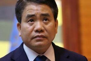 Bãi nhiệm chức Chủ tịch UBND TP Hà Nội đối với ông Nguyễn Đức Chung