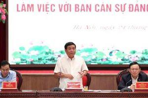 Bộ trưởng Nguyễn Chí Dũng: Hà Nội phải chủ động, đổi mới tư duy và có tầm nhìn chiến lược