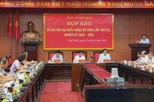 350 đại biểu chính thức, 150 đại biểu khách mời dự Đại hội Đảng bộ tỉnh Thái Bình