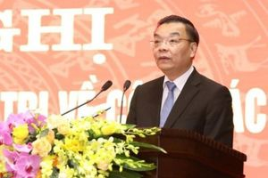Ông Chu Ngọc Anh làm Chủ tịch UBND TP. Hà Nội
