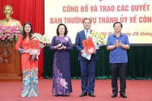 Đồng chí Bạch Liên Hương giữ chức vụ Giám đốc Sở Lao động - Thương binh và Xã hội