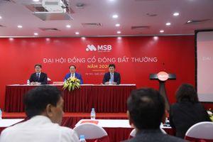MSB tổ chức ĐHCĐ bất thường 2020 bầu bổ sung Thành viên HĐQT