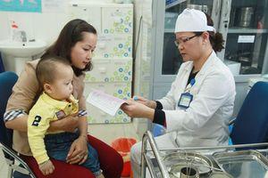 Mùa lạnh đề phòng bệnh cúm cho trẻ em