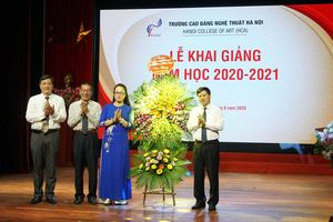Trường Cao đẳng Nghệ thuật Hà Nội khai giảng năm học 2020 - 2021