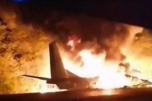 Tai nạn thảm khốc: Phi cơ không quân rơi, 22 người chết