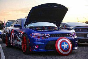 Ngắm 'gã cơ bắp' Dodge Charger phong cách đội trưởng Mỹ