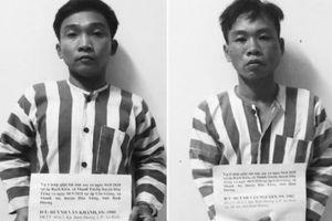 Hai anh em ruột nghiện ma túy gây hàng loạt vụ cướp 'sa lưới'