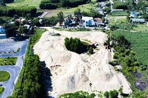 Bãi tập kết cát gây ô nhiễm môi trường ở Quảng Ngãi: Xã chỉ 'hành động' khi dân kêu vì sống không nổi