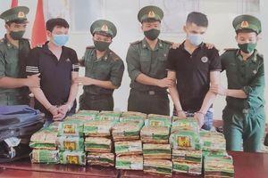 Bắt trên 100 kg ma túy từ Campuchia vào Việt Nam