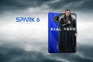 Smartphone màn hình 6,8 inch, pin 5.000 mAh, 4 camera giá chỉ 125 USD