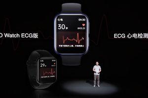 OPPO Watch ECG ra mắt: theo dõi điện tâm đồ chuẩn y tế, giá 366 USD