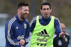 Di Maria đố kị với Messi và Aguero