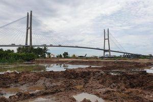 Cầu Mỹ Thuận 2: Vừa thi công vừa chờ mặt bằng