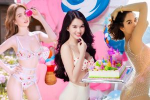 Tuyển tập bikini mừng sinh nhật, valentine gây xôn xao mạng xã hội của Ngọc Trinh