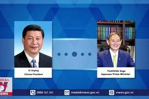 Lãnh đạo Nhật Bản và Trung Quốc thúc đẩy hợp tác khu vực