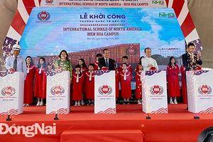 Tập đoàn giáo dục Nguyễn Hoàng khởi công trường quốc tế tại Biên Hòa
