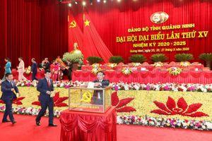 Bầu 53 đồng chí vào Ban Chấp hành Đảng bộ tỉnh khóa XV, nhiệm kỳ 2020 - 2025
