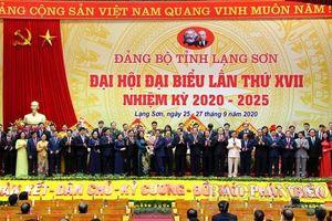 Đồng chí Phạm Minh Chính, Ủy viên Bộ Chính trị, Bí thư Trung ương Đảng, Trưởng Ban Tổ chức Trung ương dự, chỉ đạo tại Đại hội đại biểu Đảng bộ tỉnh Lạng Sơn lần thứ XVII, nhiệm kỳ 2020-2025