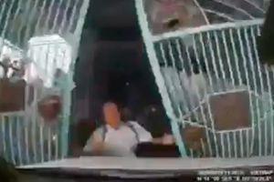 Camera giao thông: Con dâu đạp nhầm chân ga, lao ô tô tông thẳng vào bố chồng đang mở cổng
