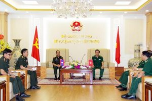 Tiến tục thúc đẩy quan hệ hợp tác bảo vệ biên giới Việt – Lào