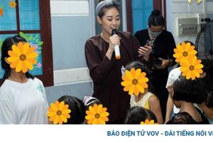 Hoa hậu Khánh Vân đóng vai chú cuội, vui Trung thu cùng trẻ em gái bị xâm hại