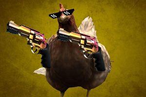 Số phận bi thương của chú gà trong CS:GO