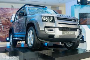 Cận cảnh Land Rover Defender 2020