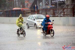 Dự báo thời tiết ngày 25/9: Bắc Bộ mưa giông, gió giật mạnh