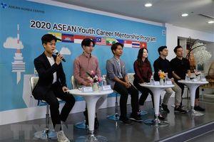 AKC tư vấn hướng nghiệp cho các tài năng trẻ ASEAN ở Hàn Quốc