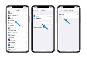 Cách thay đổi trình duyệt Safari bằng Chrome làm trình duyệt mặc định trên iOS 14