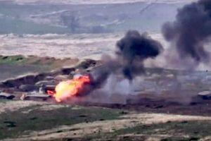 Armenia tuyên bố bắn hạ nhiều xe tăng, trực thăng quân sự của Azerbaijan