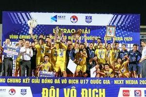 Sông Lam Nghệ An Vô địch U17 quốc gia