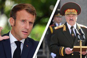 Bị Tổng thống Pháp đòi 'ra đi', Tổng thống Belarus đáp trả