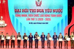 10 cá nhân điển hình xuất sắc tiêu biểu được tôn vinh tại Đại hội thi đua yêu nước CVNVCLĐ là ai?
