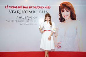 Á hậu Nguyễn Băng Châu làm đại sứ thương hiệu cho Star Kombucha