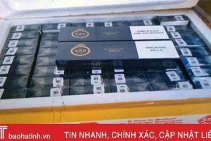 Vận chuyển 3.000 bao thuốc lá 'ba số 5' nhập lậu qua Hà Tĩnh, 2 đối tượng bị khởi tố