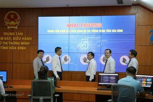Hòa Bình khai trương Trung tâm giám sát, điều hành đô thị thông minh