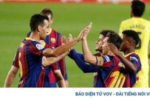 Lionel Messi xé lưới Villarreal, Barca khởi đầu La Liga như mơ