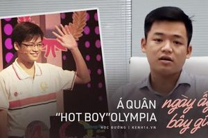 Á quân 'hot boy' gây tiếc nuối nhất Đường lên đỉnh Olympia lột xác ngoạn mục, tiết lộ lý do về nước sau du học